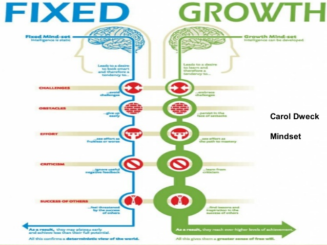 Carol Dweck and the Growth Mindset