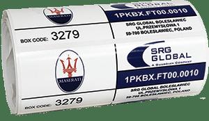Etykieta dla branży automotive