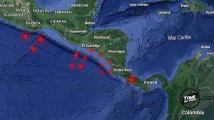 sismos, centroamerica, tsunamis