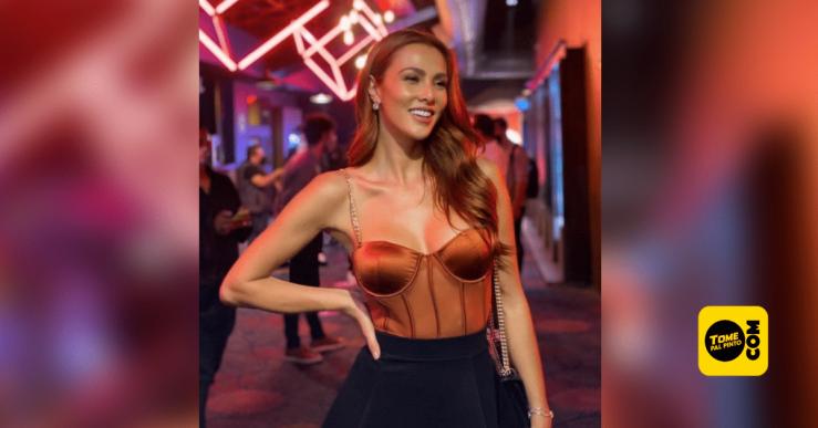 Modelo y Presentadora karina Ramos. Foto: Tomada de instagram.
