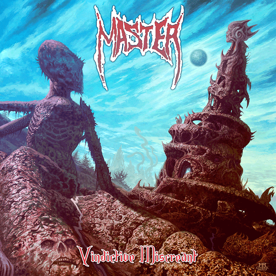 Legendary death metal band Master sign to Transcending