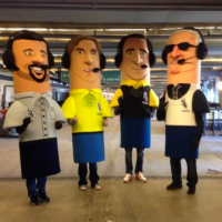 The White Sox Sausage Race Is Going To Be Pretty Great