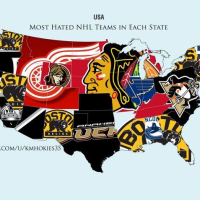 POTD: The Most Hated NHL Teams By State
