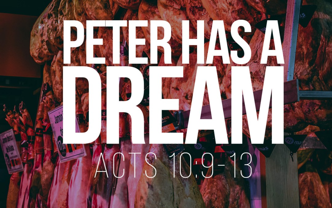 Peter Has a Vision - Acts 10:9-13 - A Bible talk by Tom French