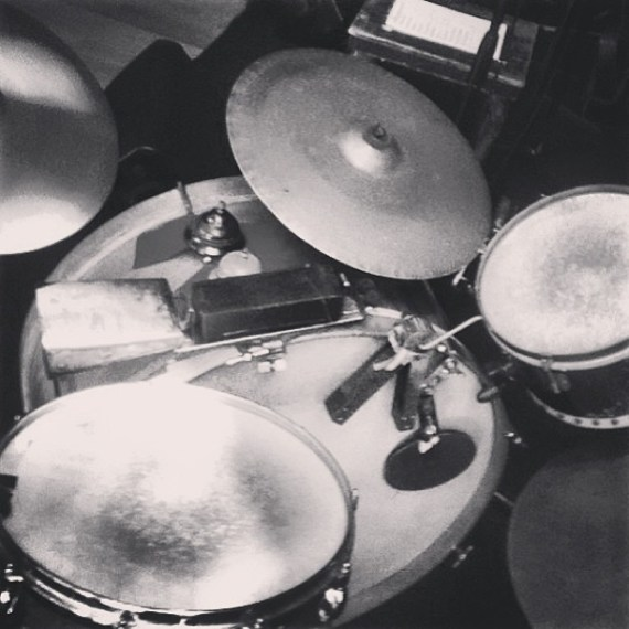 One of theee coolest drum sets, live tonight with Left Over Cuties + Tom Freund. 9pm | $5