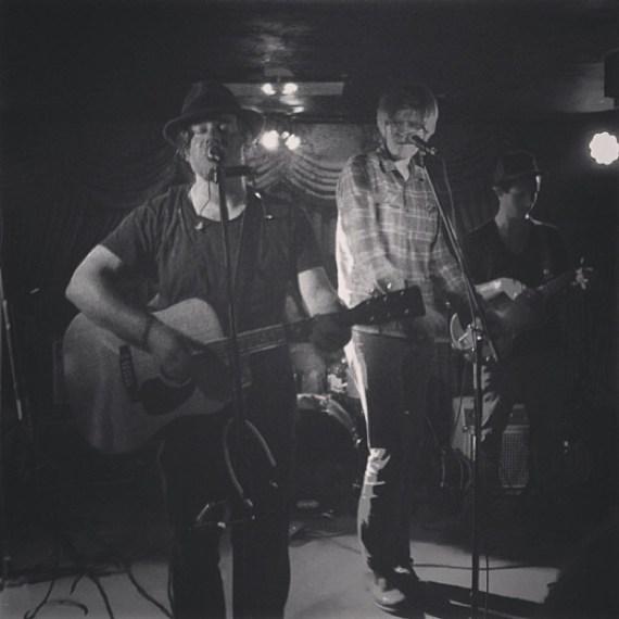 Tom Freund and Brett Dennen sounded saweet last night! Wow #delmontespeakeasy