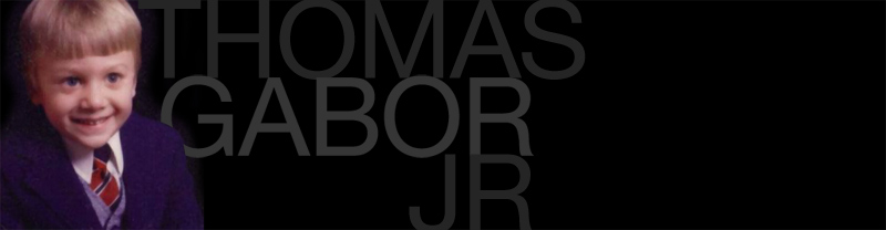 designer thomas gabor jr.