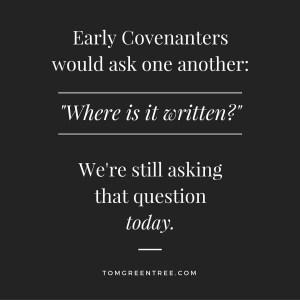 Where is it written-
