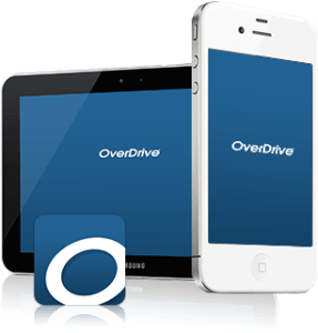 Overdrive helps you access many audio book options from your local library.
