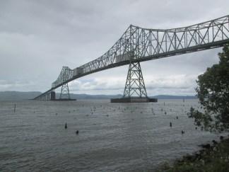 The Astoria-Megler Bridge, 4.1 miles long