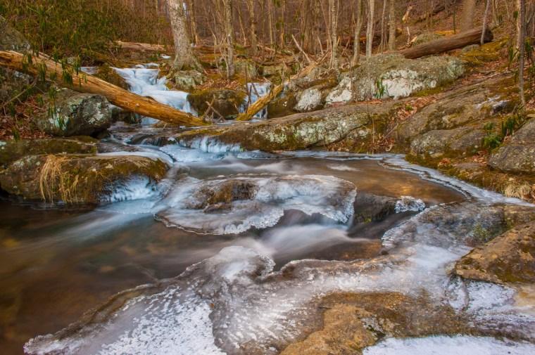 Stream Above Main Cascades