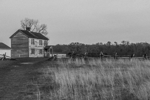 Henry House. Decided to try my hand at making this image look as old as possible. Seems kinda ironic to take a raw 36 megapixel digital image and make it look as old and grainy as possible!