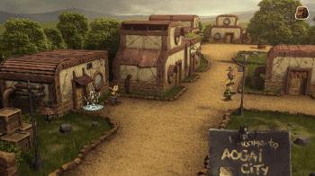 Evoland décors 3D Village