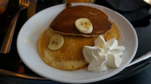 Pancakes banane noix de pécan