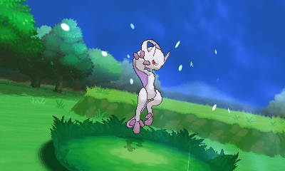 Mew Pokemon x et y movement