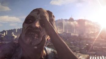 Dying light zombie head