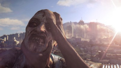 Dying light zombie head