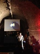 Dmitry Glukhosky lors de la soirée Metro Last Light