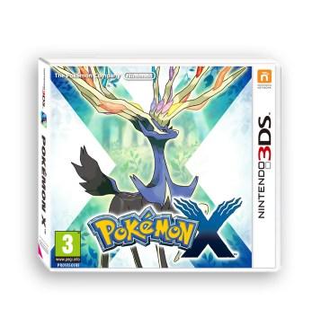 Packshot pokemon X