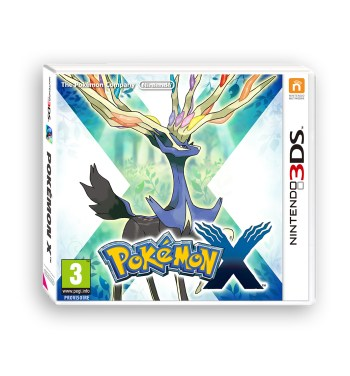 Packshot pokemon X