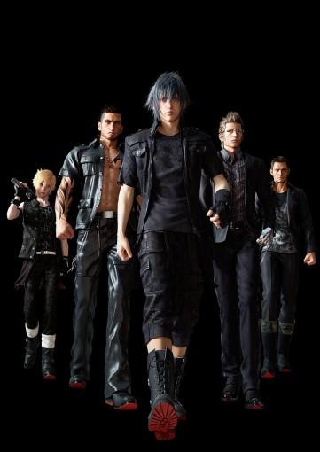 FFXV l'équipe de Noctis