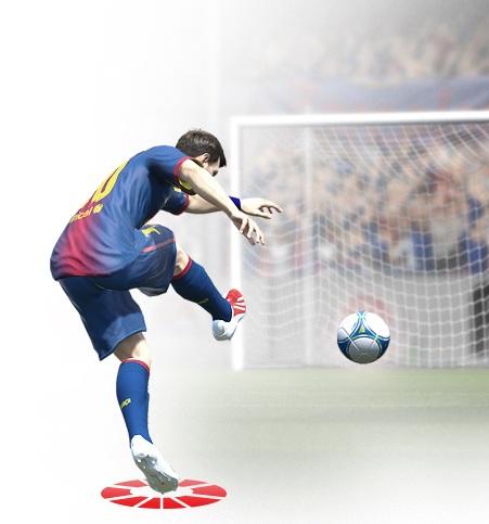 FIFA 14 Tir Tendu ras de terre