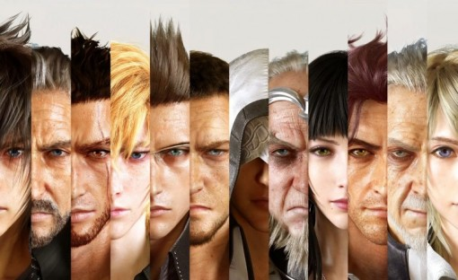 Personnages principaux FF XV