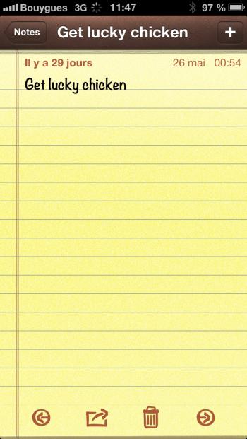 iOS 6 Notes