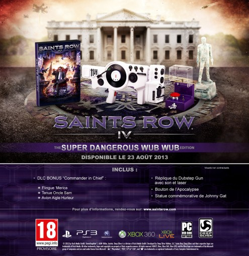 Edition Collector Saints Row 4 Beauty Shot