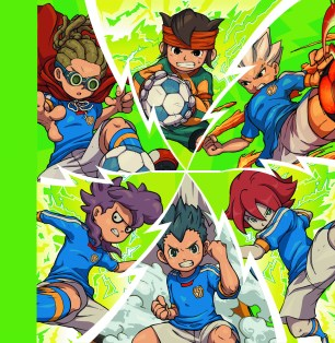Inazuma Eleven 3 3DS Heros