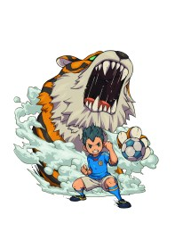 Inazuma eleven 3 3DS technique tigre