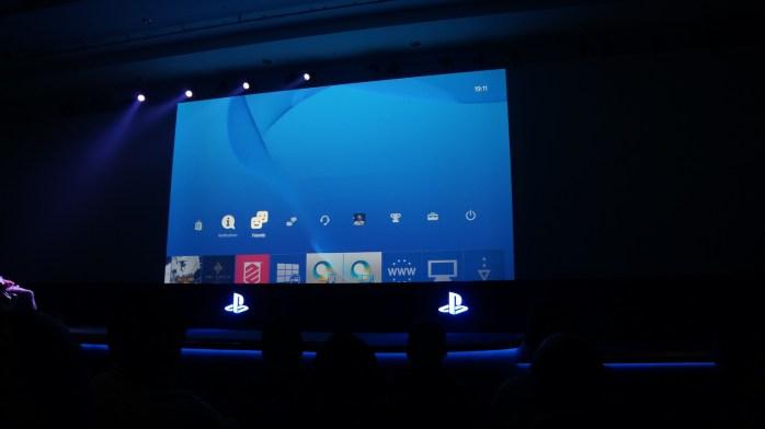 Interface PS4 Gamescom