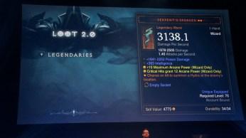 Reaper of Souls loot 2.0 épique