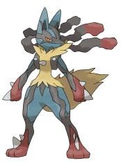 Pokemon X et Y Mega Lucario