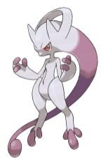 Pokemon X et Y Mega Mewtwo
