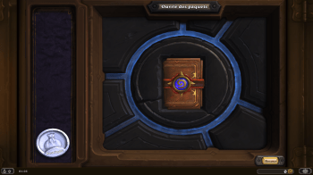 hearthstone ouverture booster