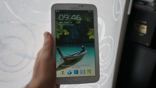 Galaxy tab 3 7.0 en main