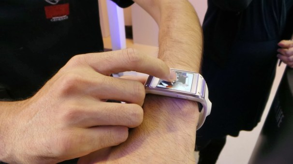Samsung Galaxy Gear prise de photo