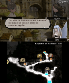 Bravely Default map