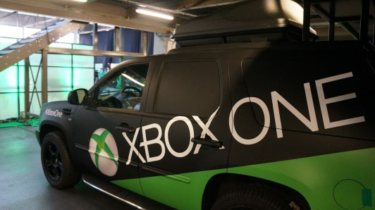Xbox one tour Muscle car