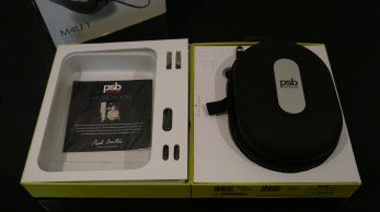 PSB Speaker M4U 1 Packaging