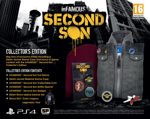 Infamous Second Son PS4 édition collector