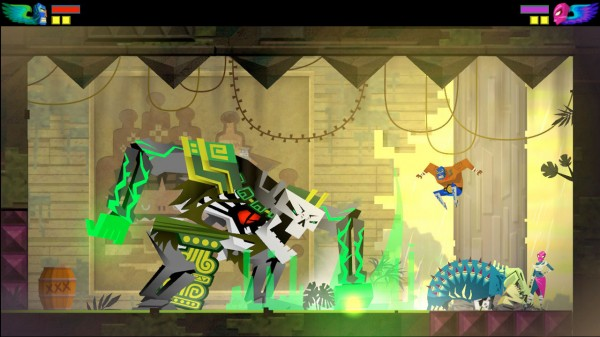 Guacamelee fight