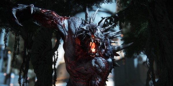 Evolve monstre gros plan