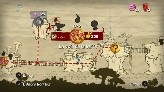 Rayman origins progression