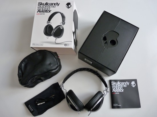 packaging skullcandy aviator