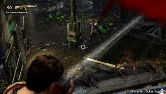 uncharted golden abyss combat