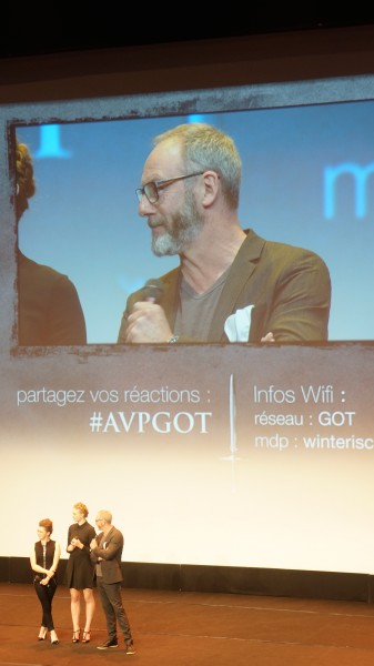 #AVPGot liam cunningham Davos Game of Thrones