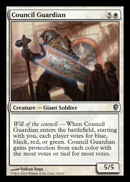 council guardian Conspiracy