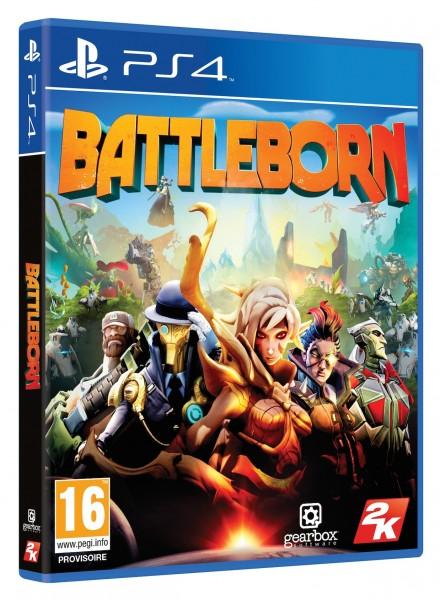Battleborn Packshot PS4